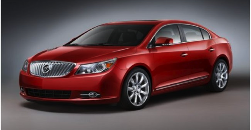 5 Buick Lacrosse Car Insurance List